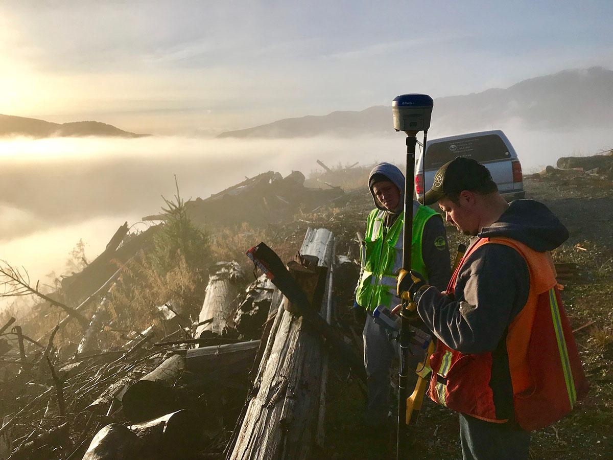 Northwest Surveying & GPS., Topographic Surveys